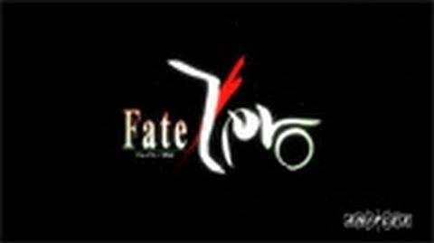 Fate Zero Trailer 3