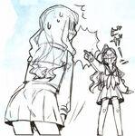 Hakuno and rani no underwear