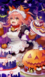 Maid in halloween