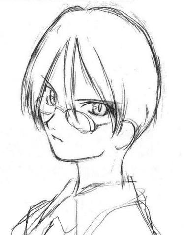 File:Touko Aozaki sketch.png