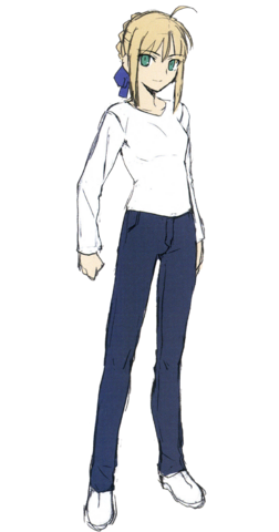 File:Saber new casual.png