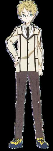 Touya Takumi winter uniform