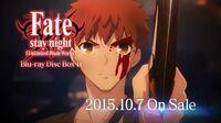 Fate stay night Unlimited Blade Works / BD-Box Ⅱ 発売告知CM 第2弾