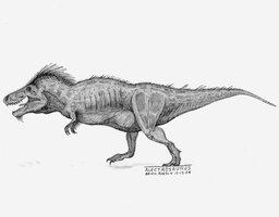Alectrosaurus olseni by briankroesch