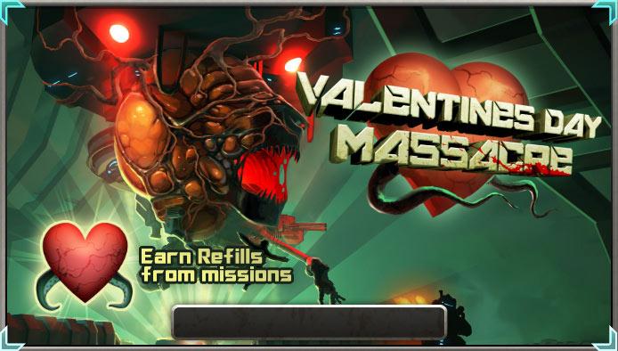 Valentines banner timer refill