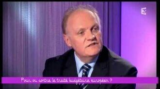 François ASSELINEAU Invité de Frédéric TADDEÏ « CE SOIR OU JAMAIS » CSOJ (2-10-2012)