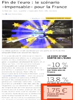 T Le faux grossier du Figaro du 20 décembre 2010