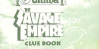 The Savage Empire Clue Book