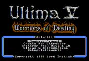 U5 Atari8bit Title