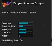 Enigma Cannon Dragon infosheet