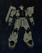 MS-06F2 Commander Type Zaku 2