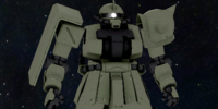 MS-06F2 Zaku 2 F2 Commander Type