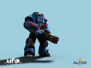 Al-pre human heavy