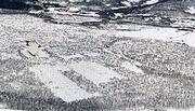 Ramfjordmoen forskningsstasjon winter 1