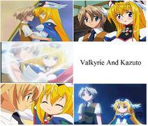 Valkyrie And Kazuto