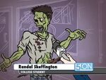 5 On Zombie Randal Skeffington
