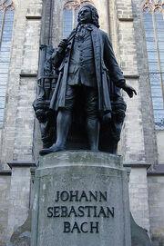 Bach statue again