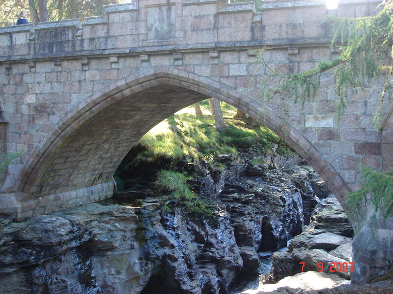 A Scottish Masonary Arch Bridge