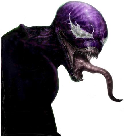Symbiote purple