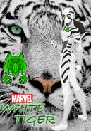 White tiger redesign what if mcu suit design by momopjonny