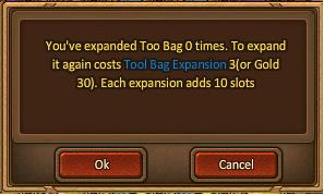 Bag-expand