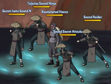 Kinjutsu Spirit Fight 3 Hanzo