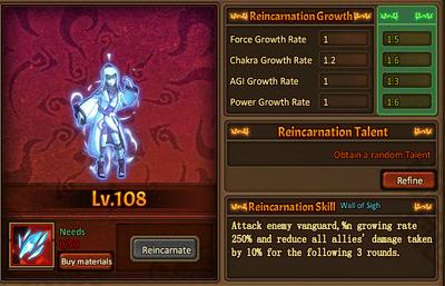 Reincarnation One Genjutsu Main Female