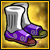 110 Purple Flame Boots