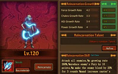 Reincarnation One Yugito Nii