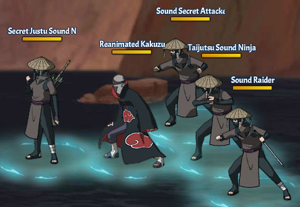 Kinjutsu Spirit Fight 11 Kakuzu