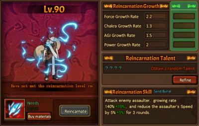 Reincarnation One Gaara