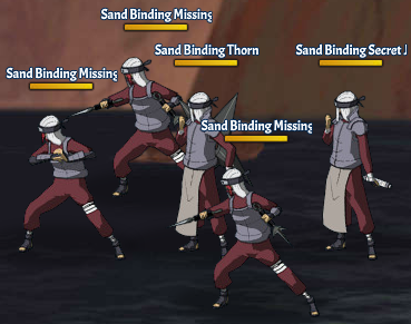 Sand Binding Land Fight 3