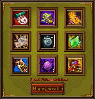 Happy Scratch Enjoyable Card