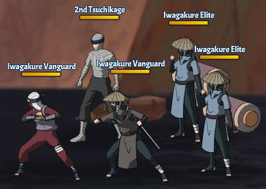 Top Kages 2nd Tsuchikage Team Fight Three
