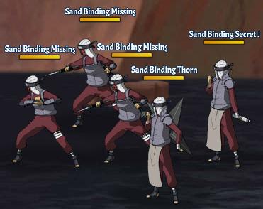 Sand Binding Land Fight 1