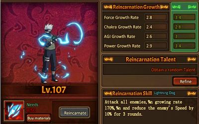 Reincarnation One Divinity Kakashi