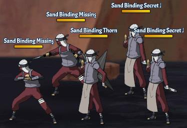 Sand Binding Land Fight 24