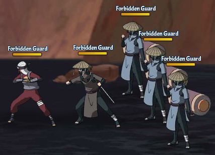 Taboo Jutsu Five Kages Conference Scuffle Fight 4