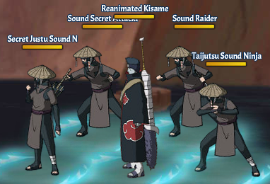 Kinjutsu Spirit Fight 8 Kisame