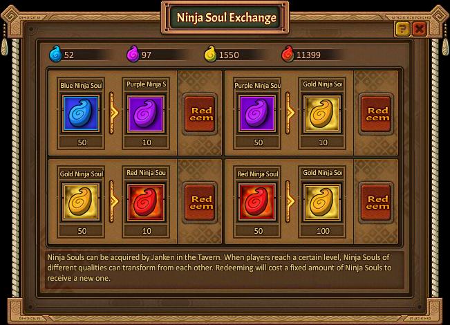 Ninja Soul Exchange
