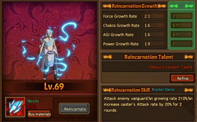 Reincarnation One Kimimaro
