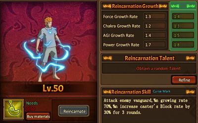 Reincarnation One Juugo