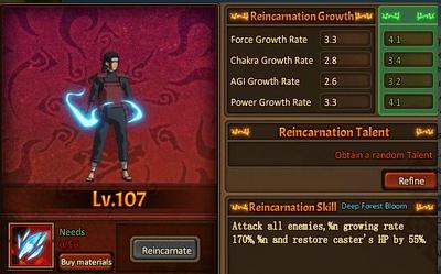 Reincarnation One Hashirama