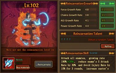 Reincarnation One Susanoo Itachi