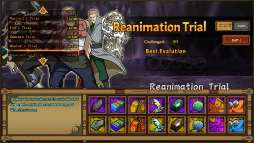 Reanimation Trial Grid