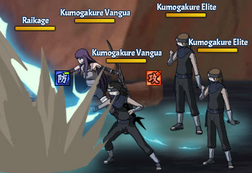 Top Kages Raikage Team Fight Three