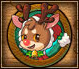 Pet Red Nose Reindeer Small Grid