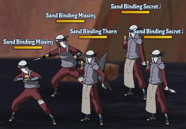 Sand Binding Land Fight 14