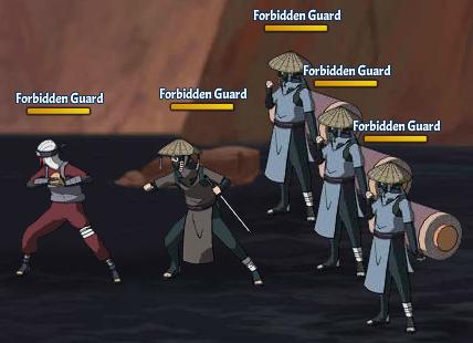Taboo Jutsu Orochimaru's Attack Fight 4