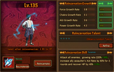 Reincarnation One Rinnegan Sasuke